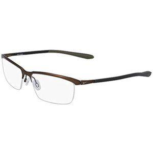 Eyeglasses NIKE 6073 214 Satin Walnut/Black